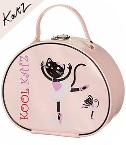 [Katz] Girls Pink Ballerina Ballet Case