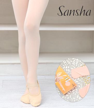 [Sansha] Footed Tights 'T99' (�߷���ũ)